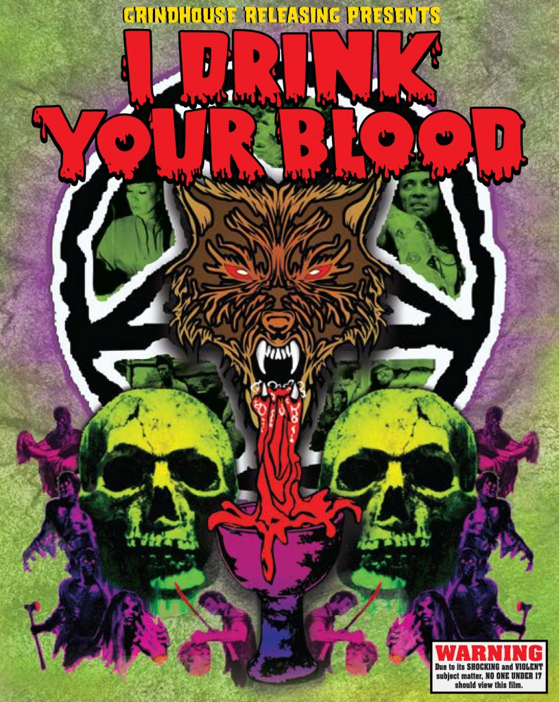 I Drink Your Blood (1971) 2-disc Blu-ray set. directed by David Durston: Grindhouse Releasing