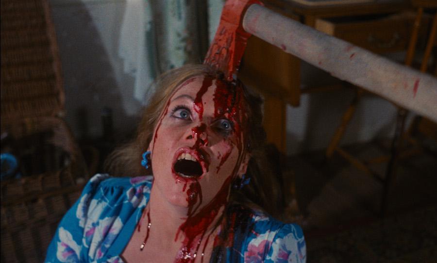 PIECES 1983 horror axe to head