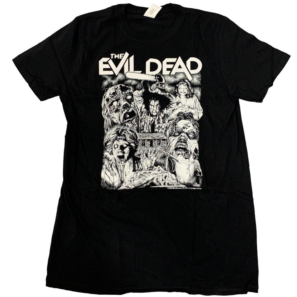 EVIL DEAD Grindhouse Releasing theatrical T-shirt/merchandise/merch
